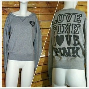Sweaters - V.S PINK sweatshirt + Forever 21 Top SP